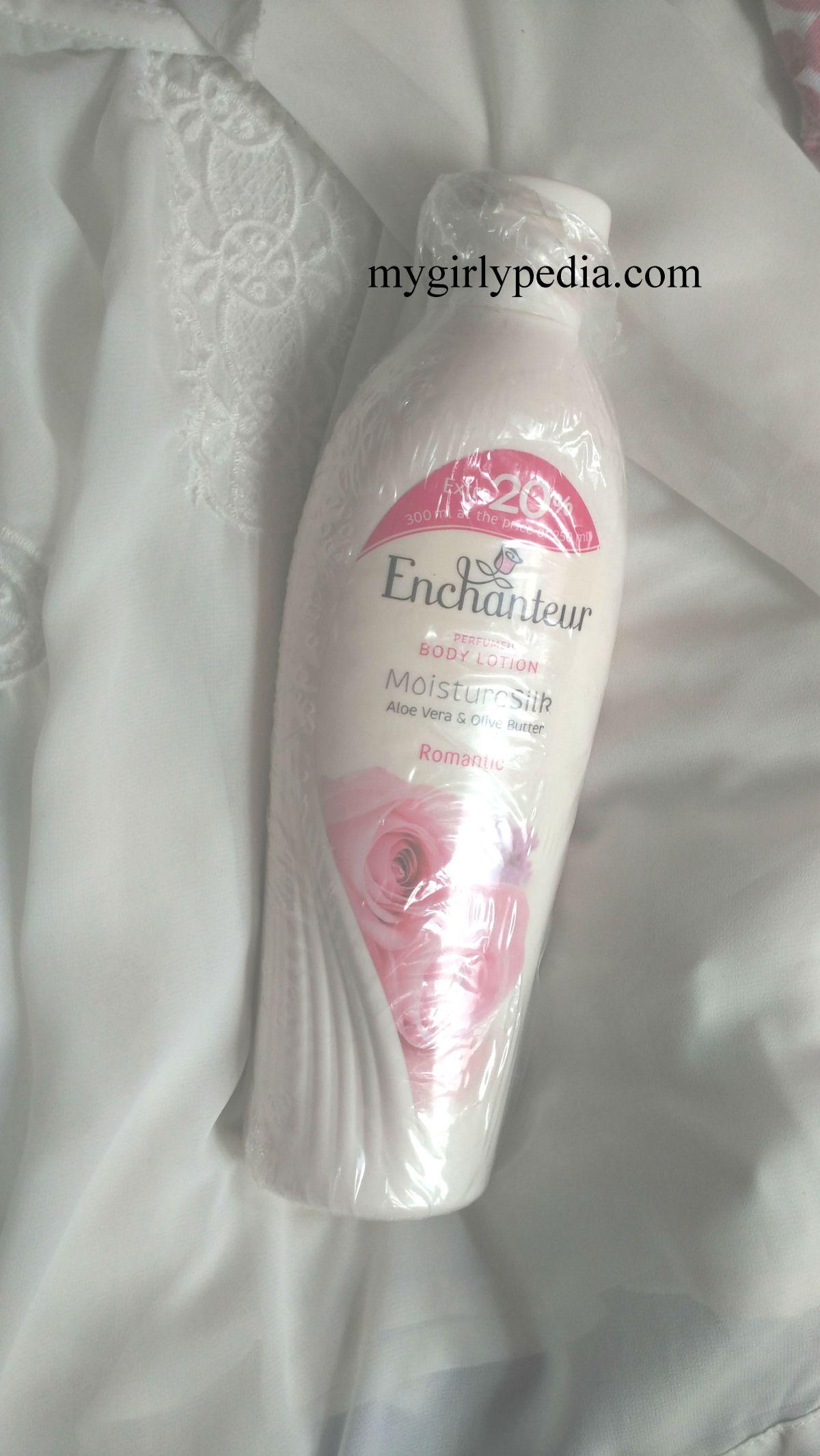 Enchanteur romantic body lotion, thumbs up or thumbsdown???