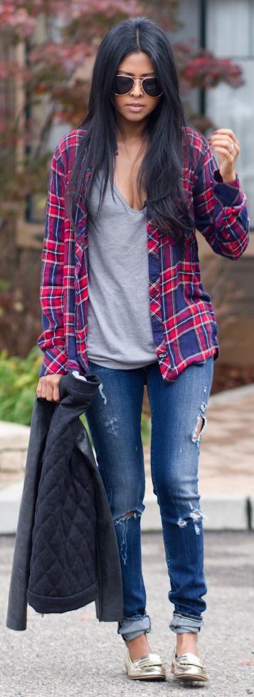 90b40079b3d34df5eeb4698cf7deb7d8--flannel-shirt-outfits-jean-shirt-outfits