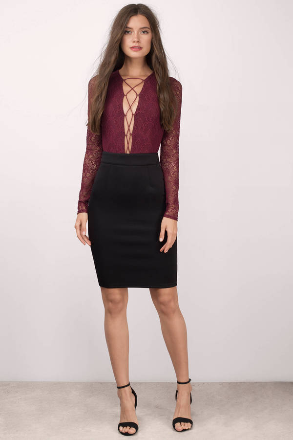 How to Style a PencilSkirt