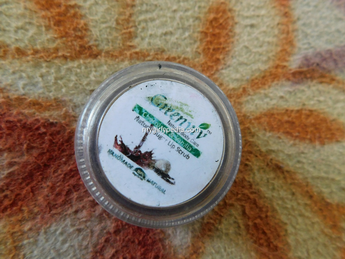 Greenviv Lip Scrub : Review