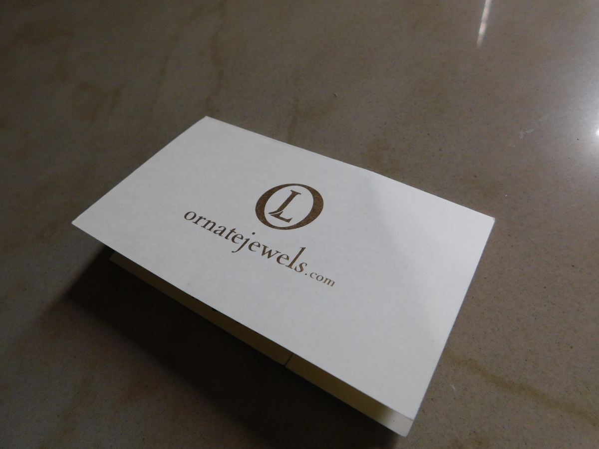 My Online Shopping Experience at OrnateJewels
