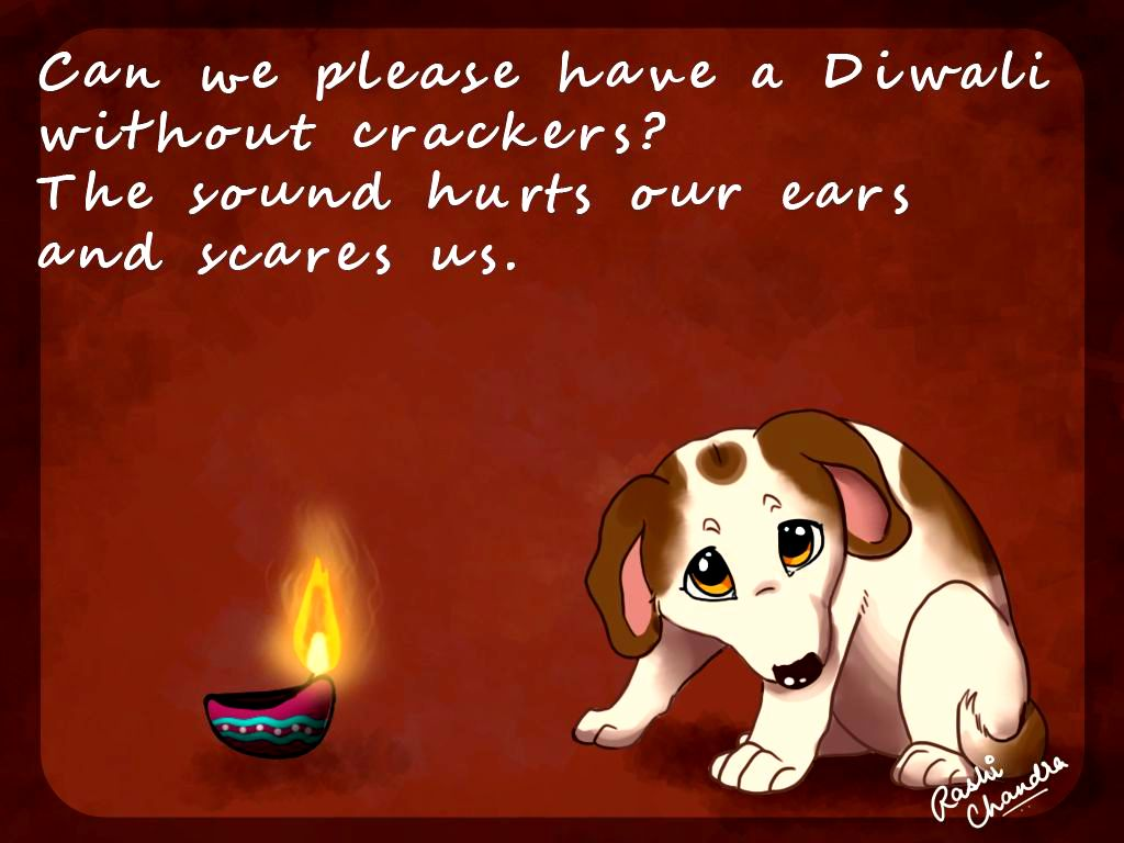 Happy and PAWsitive Diwali Everyone