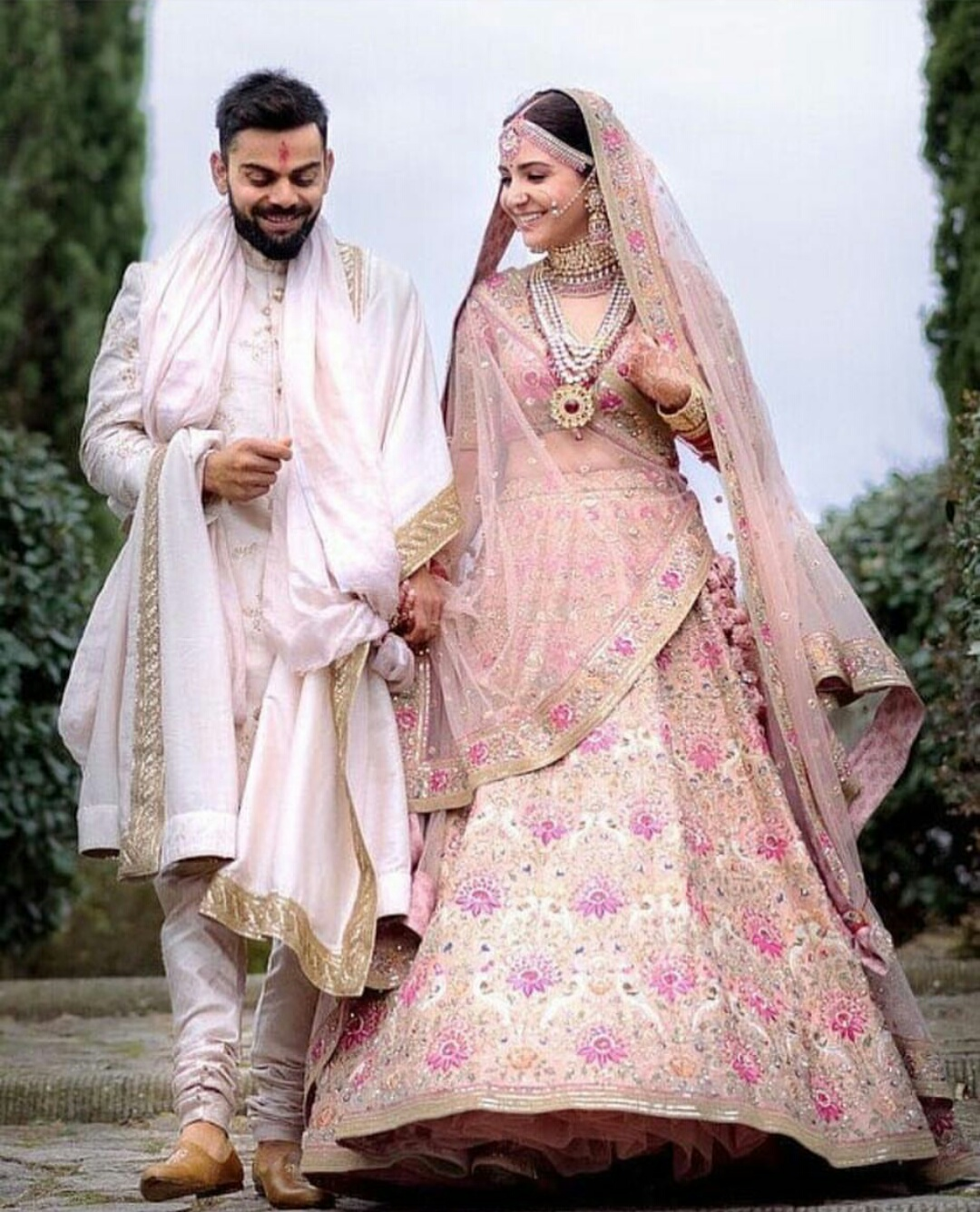 Fairy Tale Wedding of Anushka and Virat..!!!