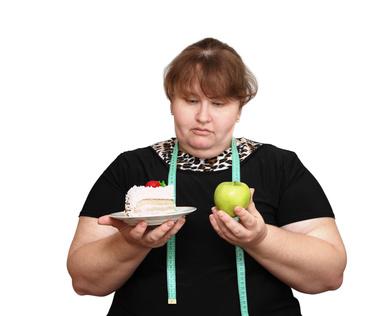 dieting overweight women choice