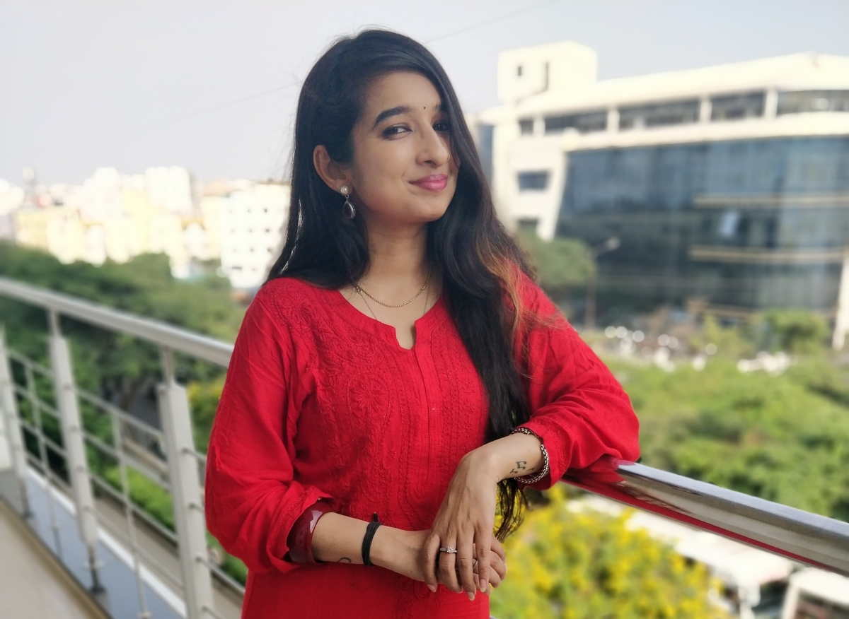 OOTD : Navratri Day 7, The Color Red