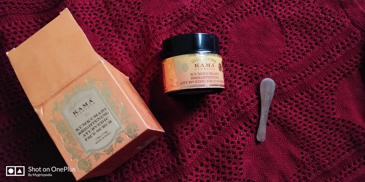 Kama Ayurveda Kumkumadi Brightening Ayurvedic Face Scrub Reviewed