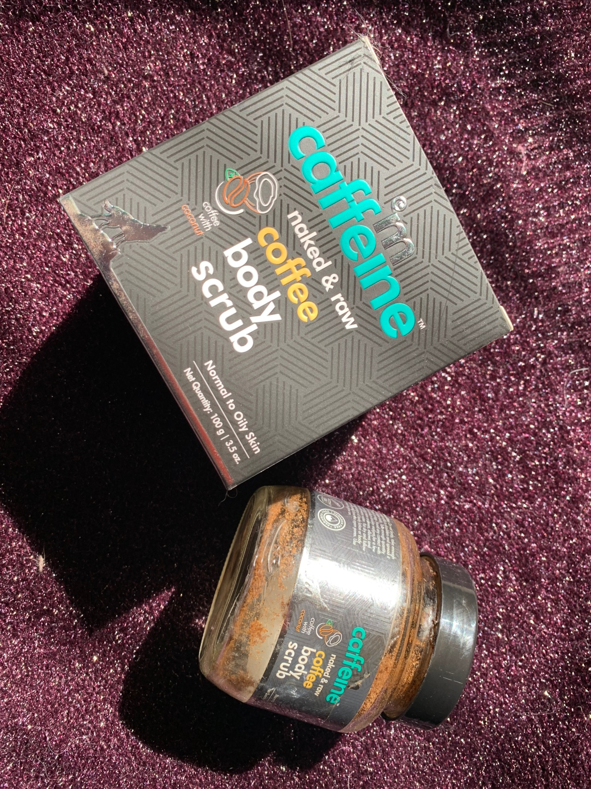 MCaffeine Naked & Raw Coffee Body Scrub : Review and Swatch